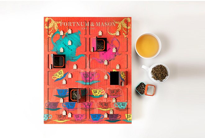 Fortnum & Mason Christmas Tea advent calendar 2015