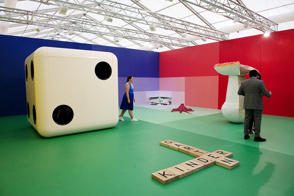 Carsten Hollers installation Gartenkinder