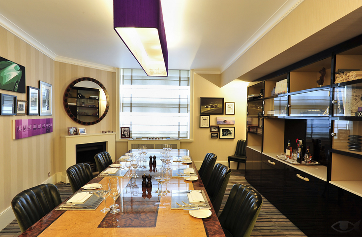 bentley dining room mosimann's belgravia image