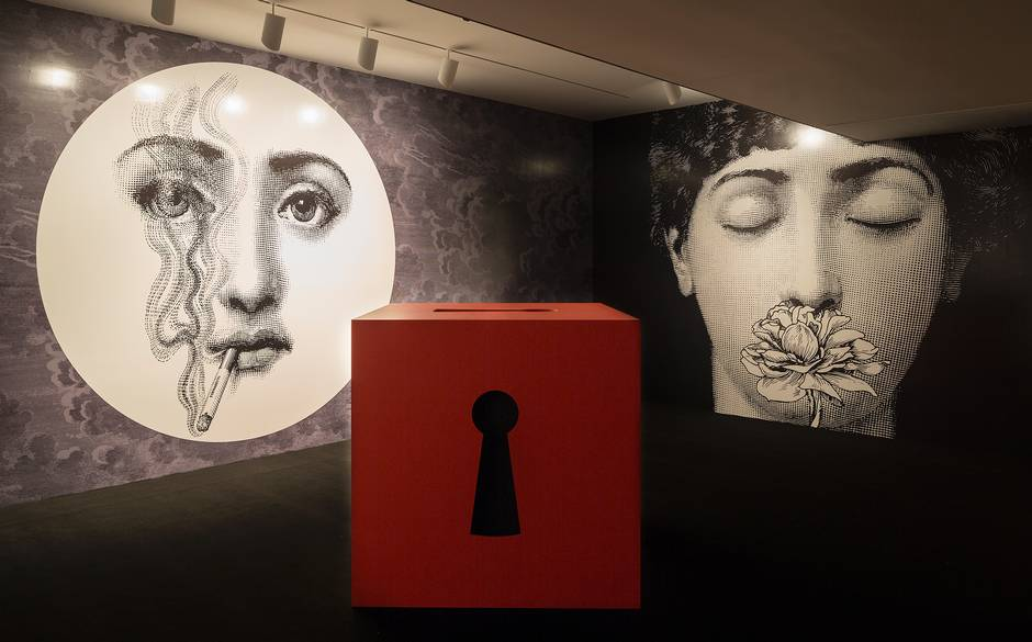 valentino and fornasetti smell room