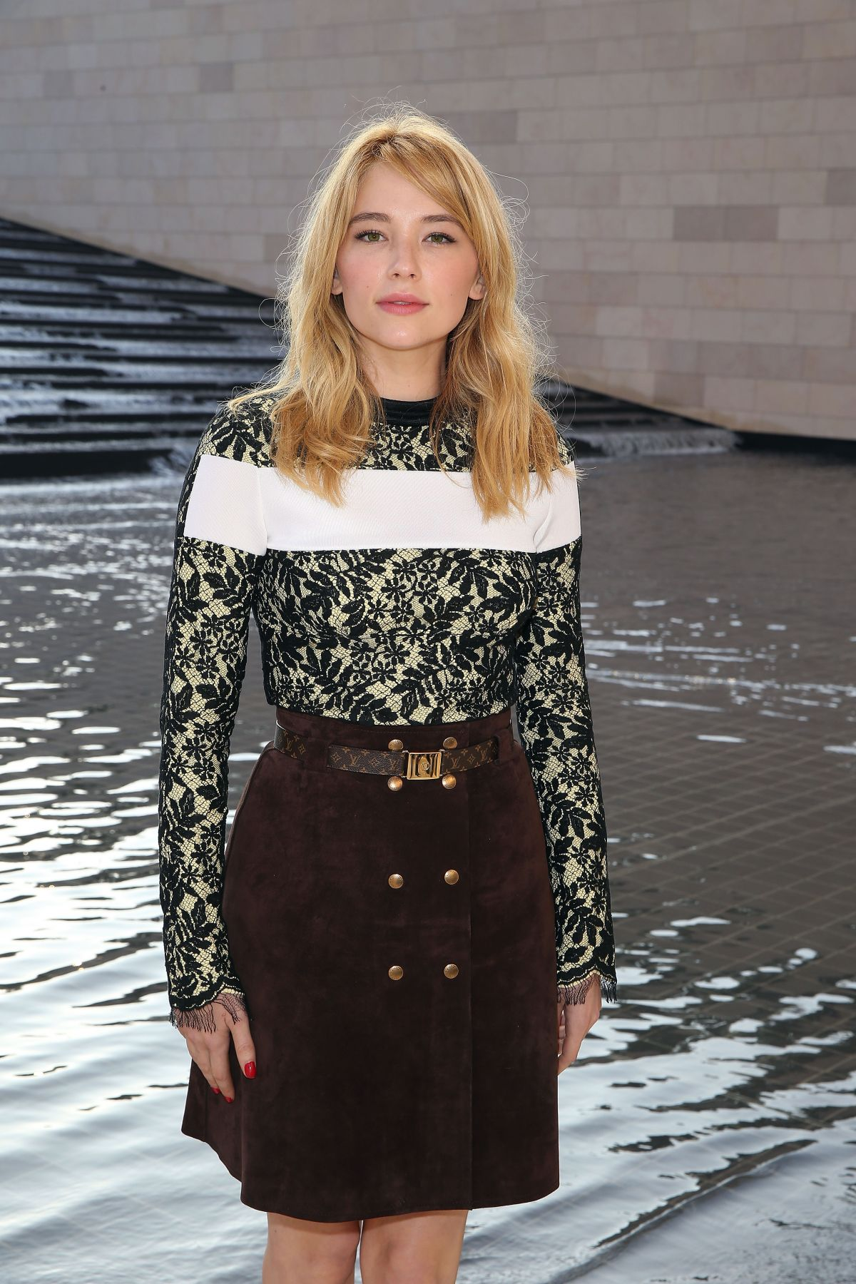 Haley Bennett in Louis Vuitton