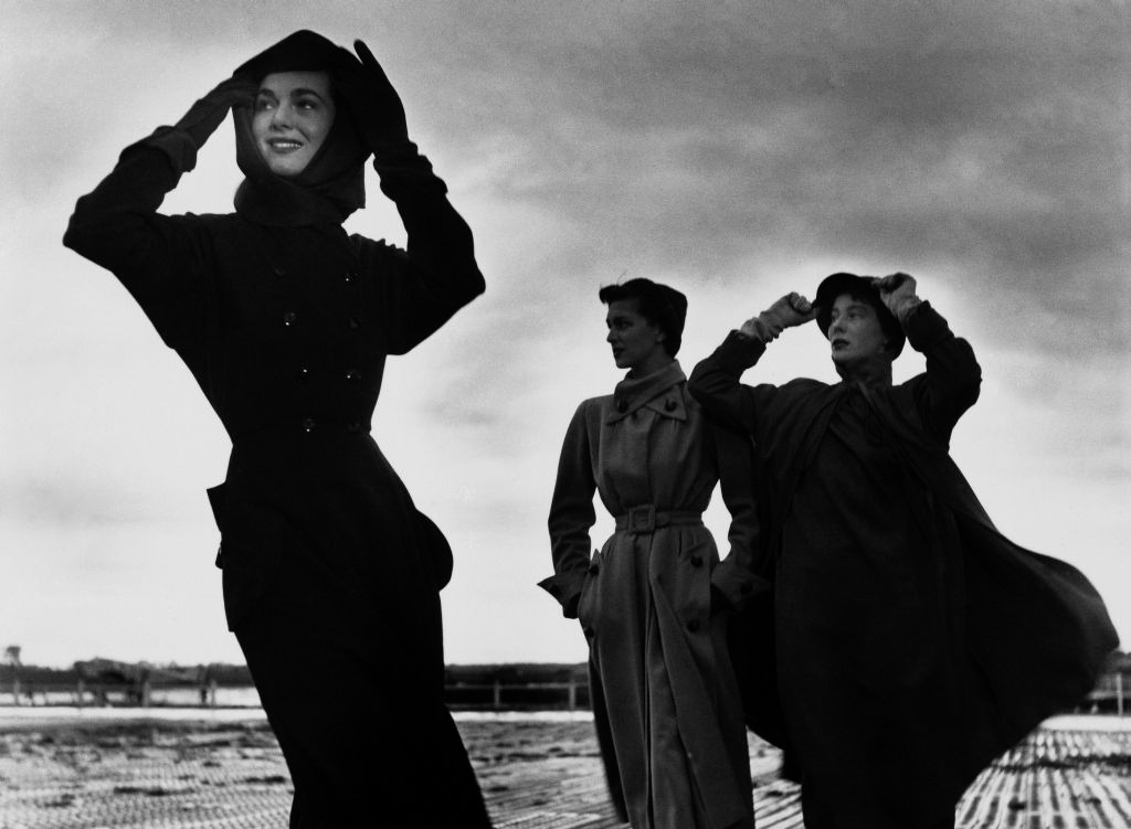 Robert Doisneau shots of Bettina and other models