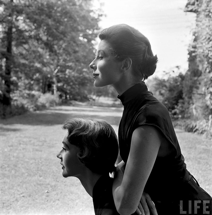 Bettina e Sophie 1950 LIFE magazine