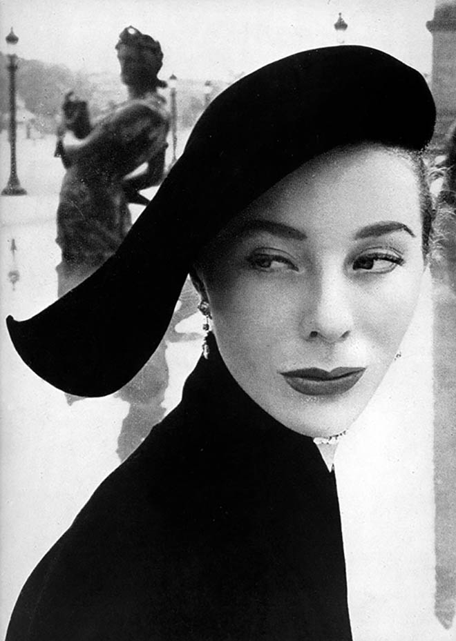 Bettina Graziani photo by Arik Nepo, 1951