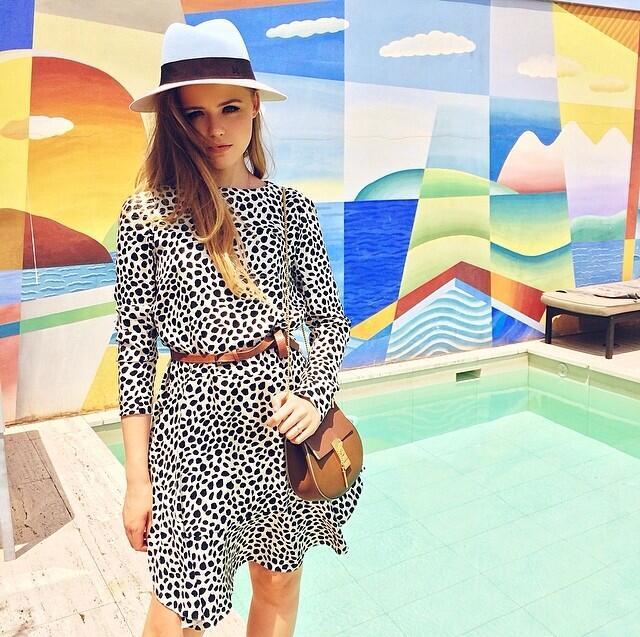 Instagram Kristina Bazan Chloe Drew bag