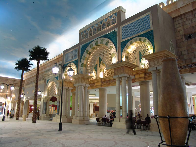 dubai ibn battuta shopping mall: