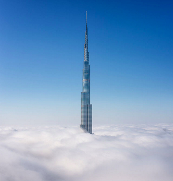 The Burj Khalifa Dubai