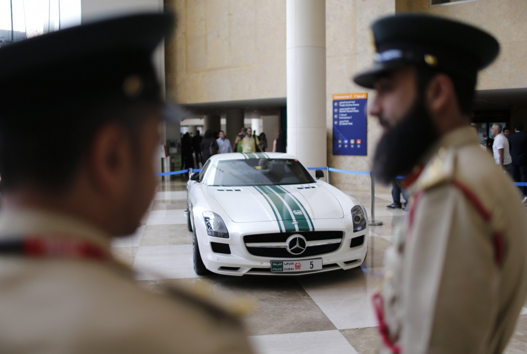 police fleet in Dubai