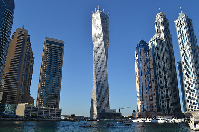 twisted tower Dubai