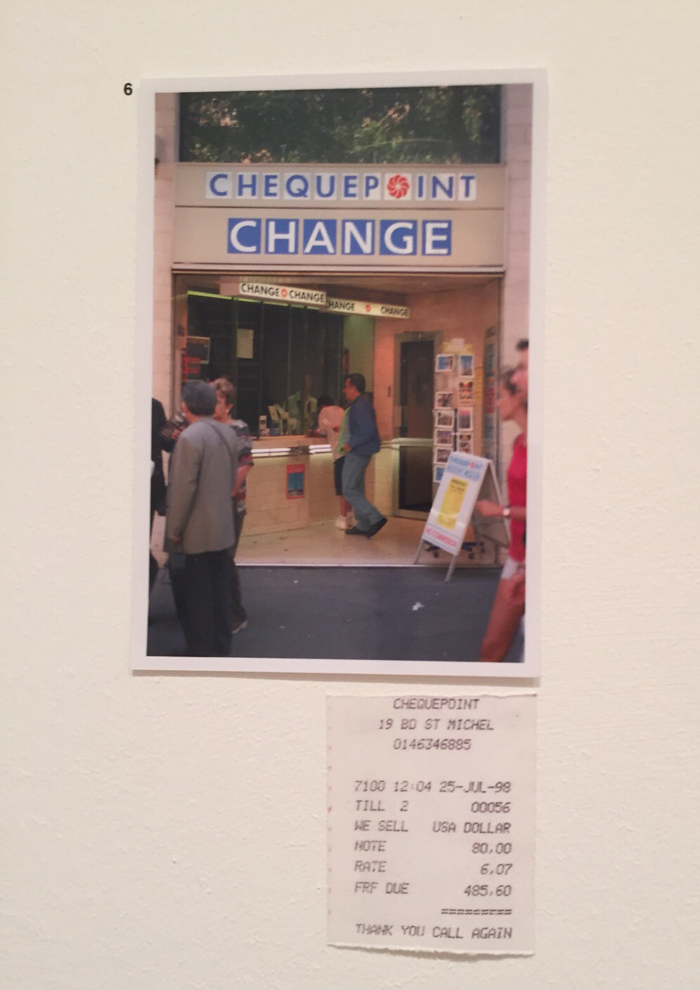 Exchange Emily Jacir exhibition whitechapel gallery London