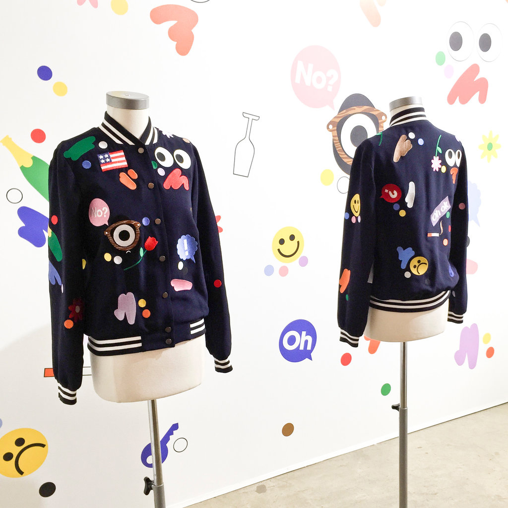 Craig Redman (Darcel) bomber jacket collaboration Mira Mikati