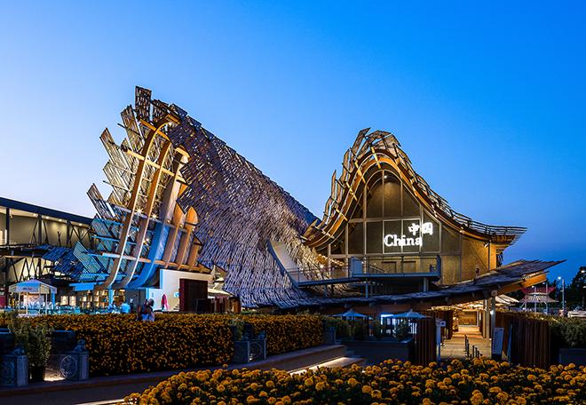 Expo Milano 2015 China pavilion Darren Bradley