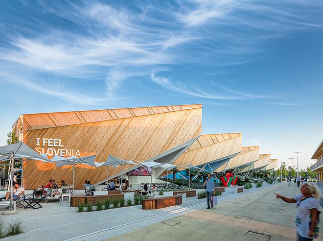 Expo Milano 2015 Eslovenia pavilion Darren Bradley