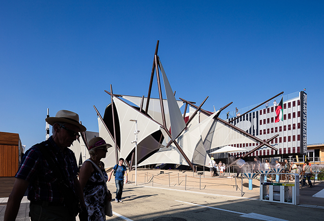 Expo Milano 2015 Kuwait pavilion Darren Bradley