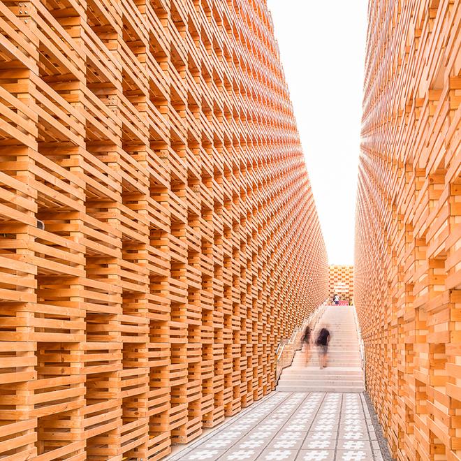 Expo Milano 2015 Poland pavilion Darren Bradley