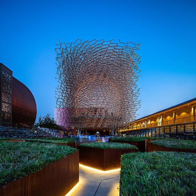 Expo Milano 2015 United Kingdom pavilion Darren Bradley