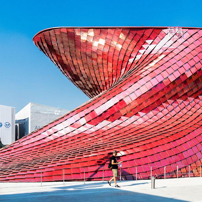 Expo Milano 2015 Vanke pavilion Darren Bradley