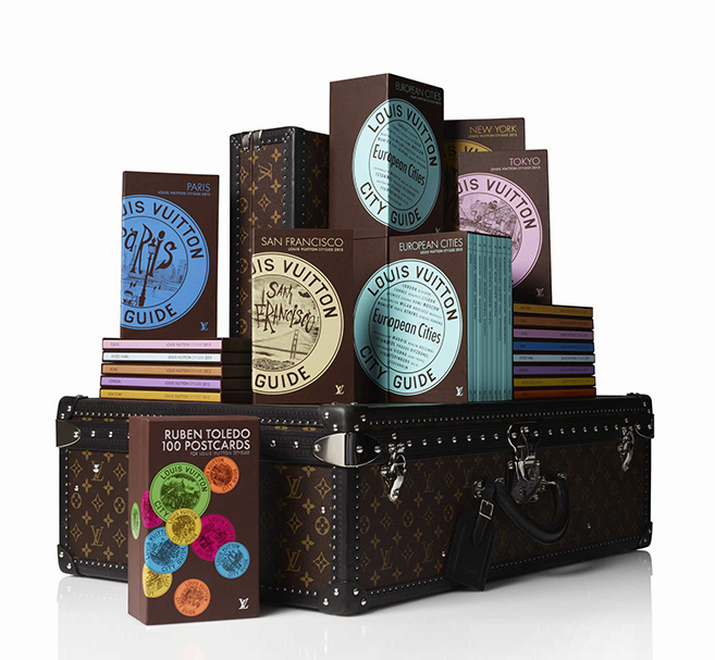 New Louis Vuitton city guides
