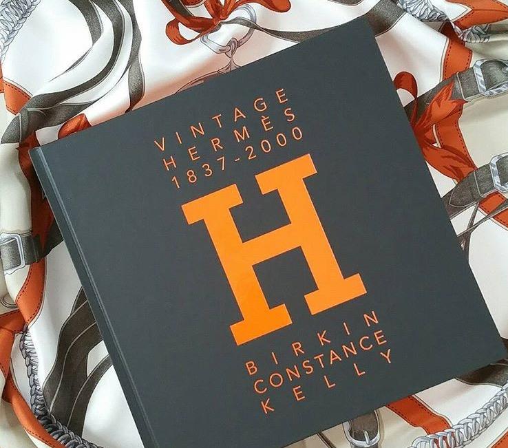 Vintage Hermes book