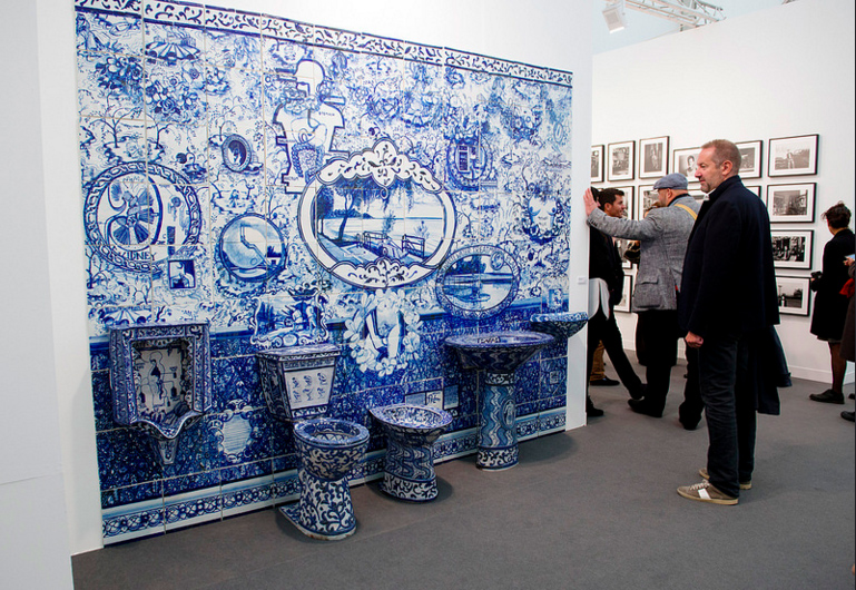 PPOW, Frieze London 2015. Photograph by Linda Nylind. Courtesy of Linda Nylind/Frieze.