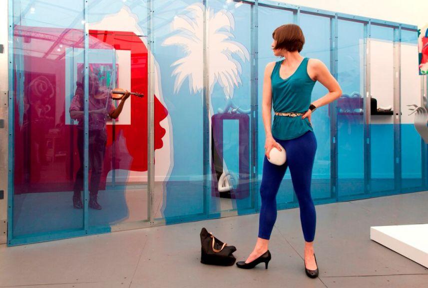 """Eddie Peake """"The Forever Loop""""  Barbican Art Gallery  October 9 to January 10, 2016"""