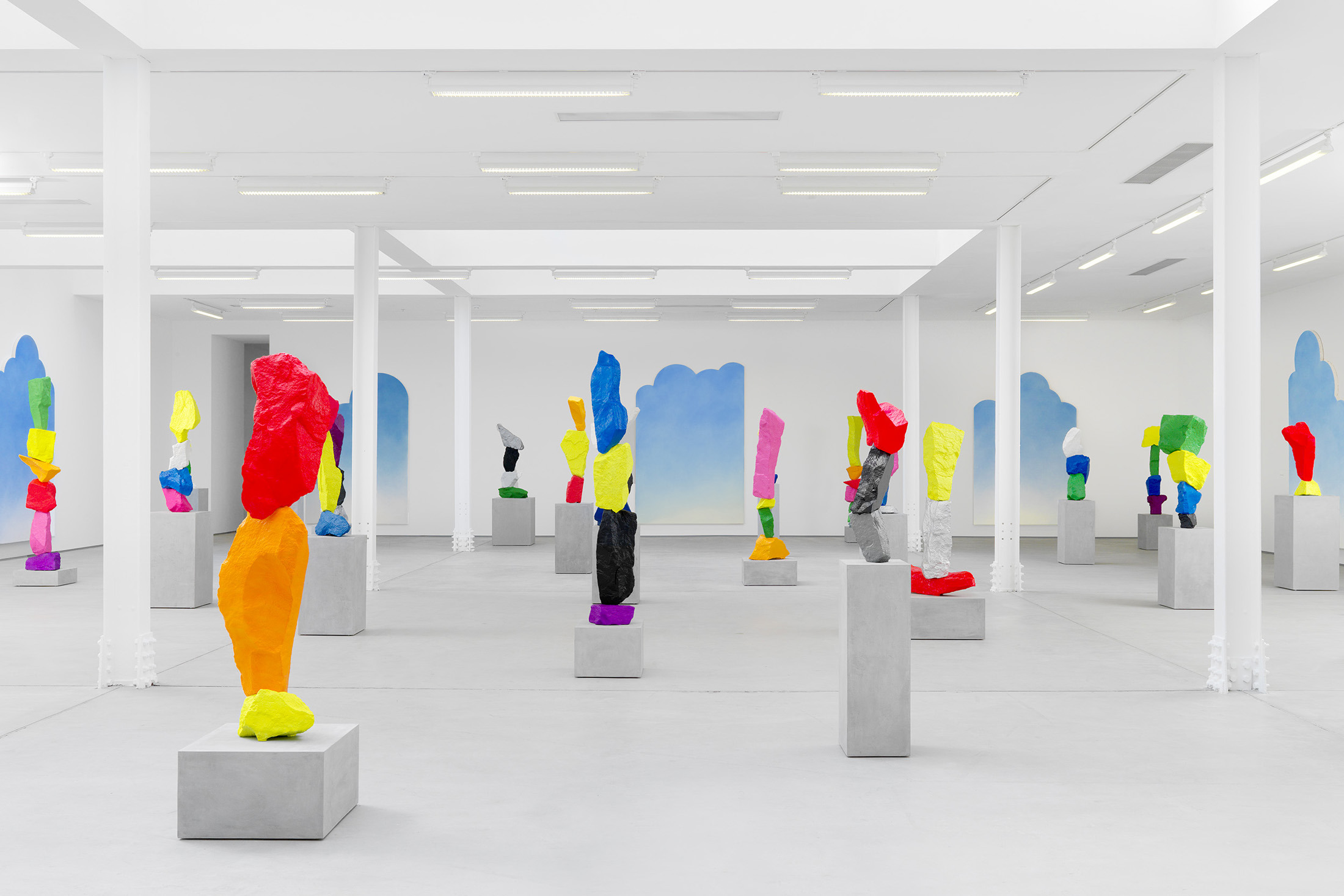 Ugo Rondinone at Sadie Coles Frieze week 2015