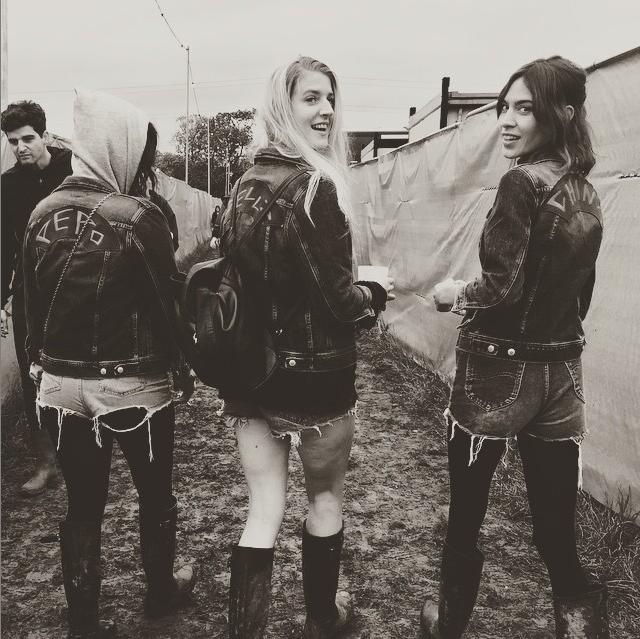 Alexa Chung Instagram Glastonbury Festival 2015