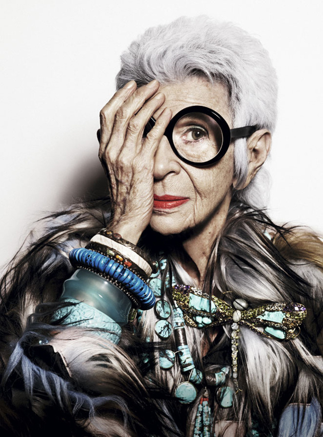 iris afpel documentary by Albert Maysles