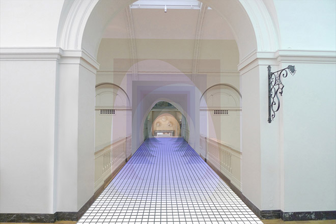 Matteo Fogale and Laetitia de Allegri's tunnel bridge London Design Festival 2015