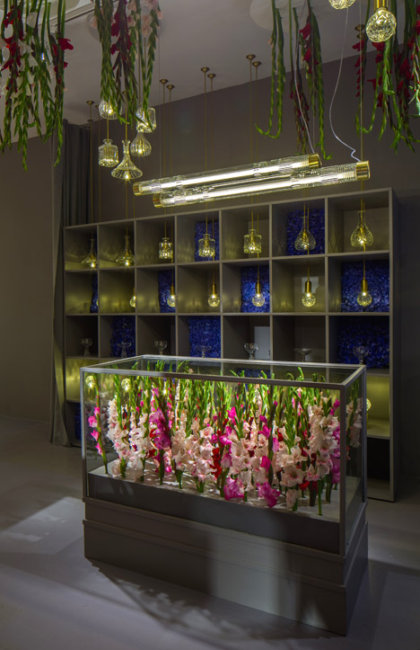 Lee Broom Flower shop London Design Festival