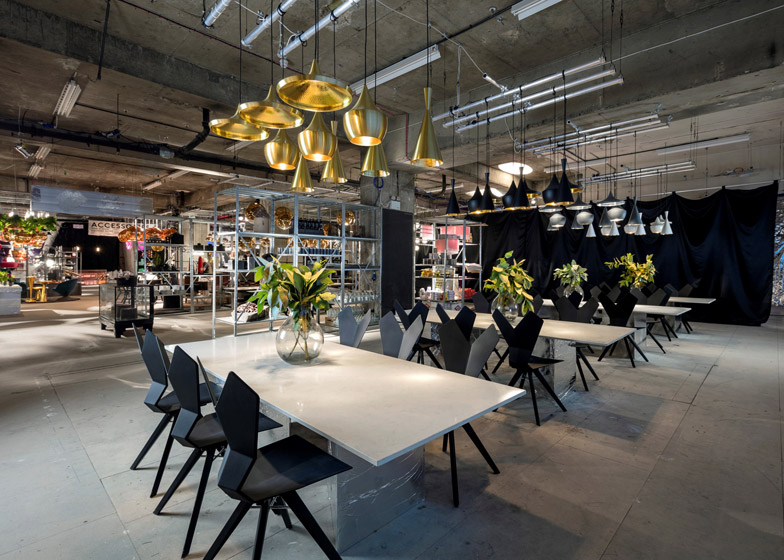 Tom Dixon Multiplex pop up store Old Selfridges Hotel London Design Festival