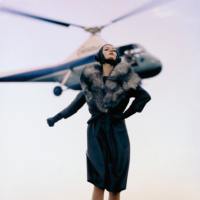 Take Off ForParis Queen 1960 Norman Parkinson