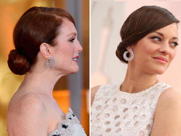 Julianne Moore and Marion Cotillard Oscars 2015 Getty