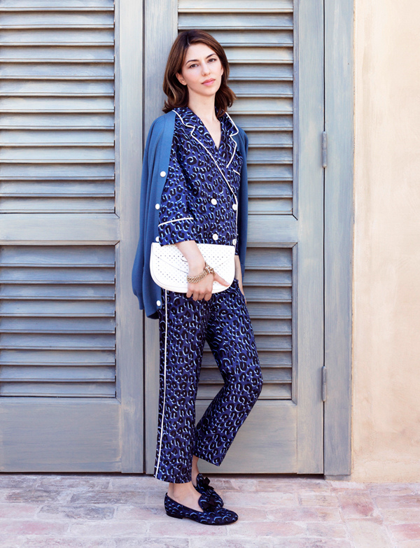 Sofia Coppola pajama trend