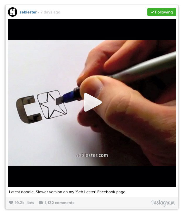 Seb Lester converse logo