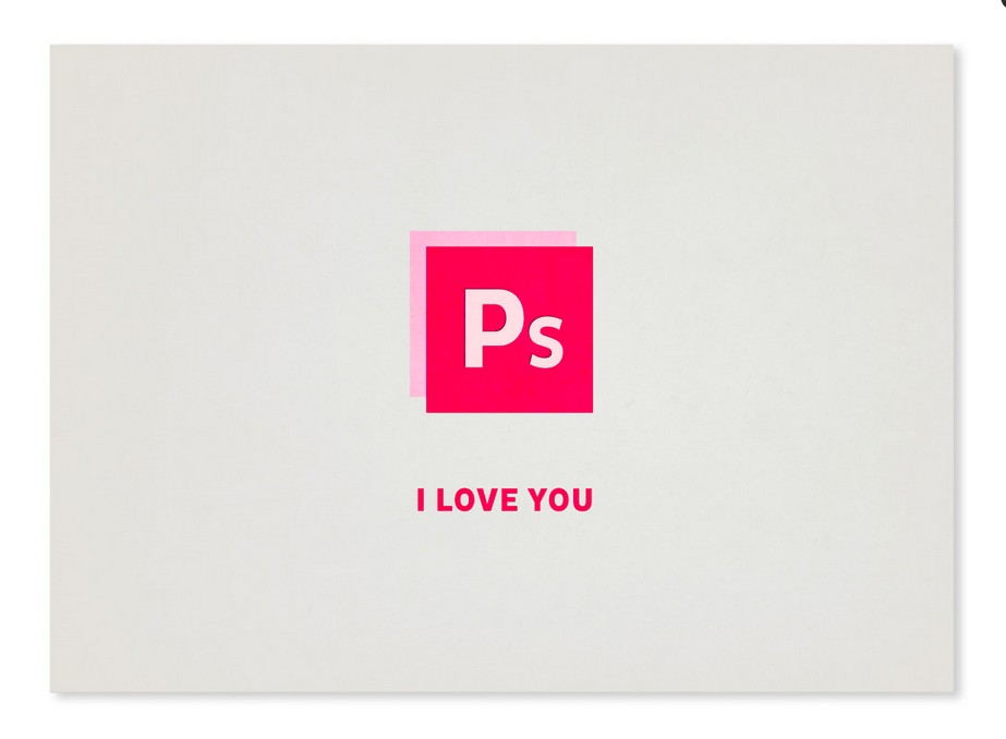 Joanna Behar valentines day cards in Behance