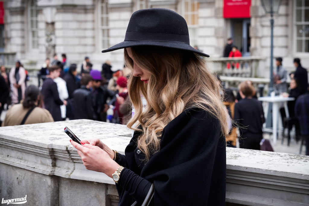 London fashionweek streetsyle 2015