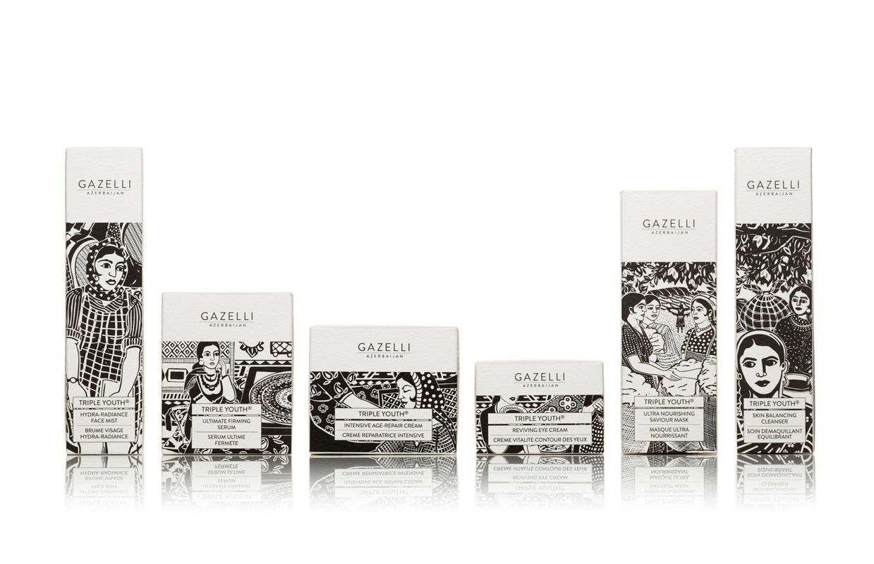 Gazelli Lovely packaging