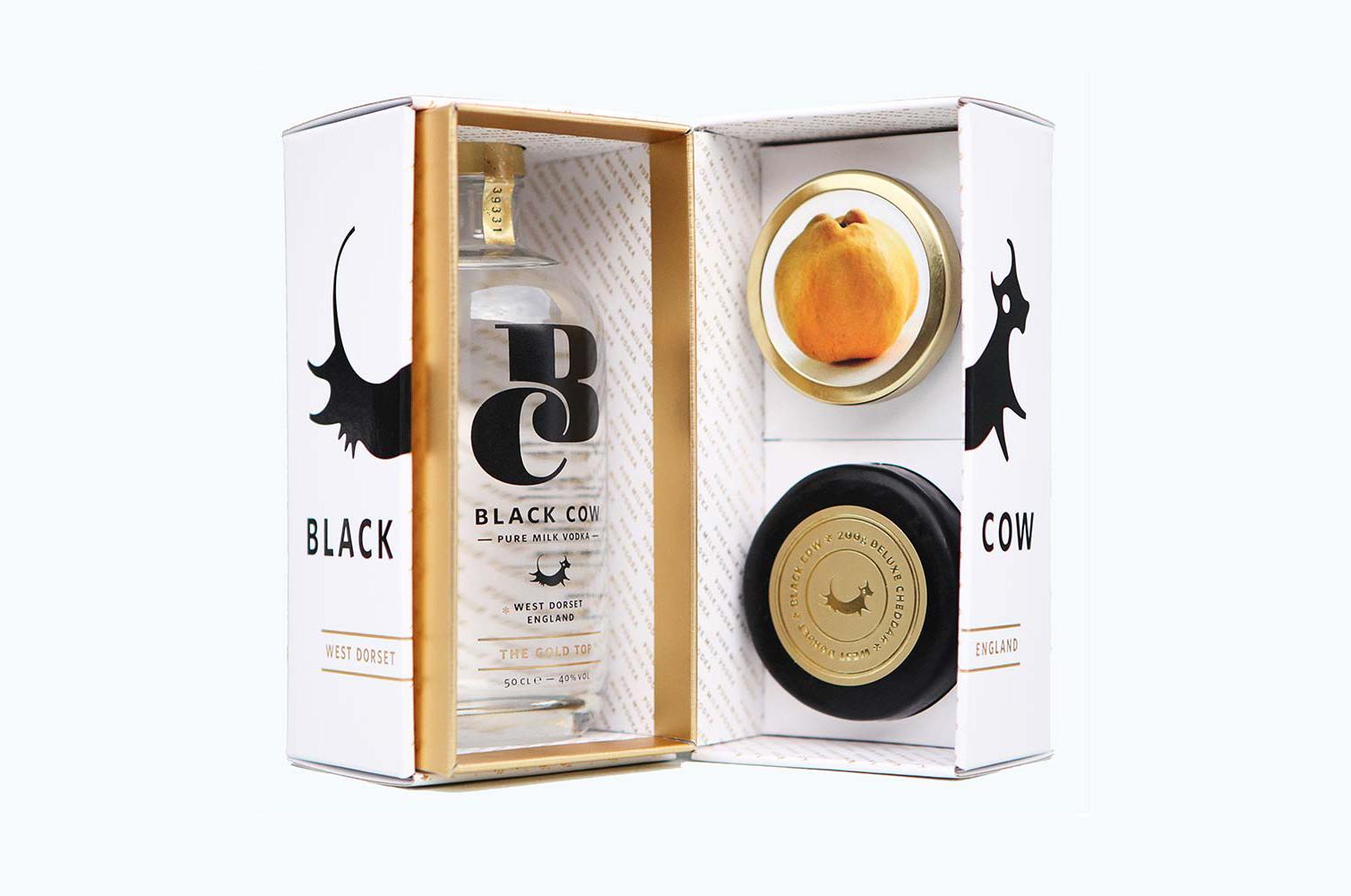 Cow Vodka gift box