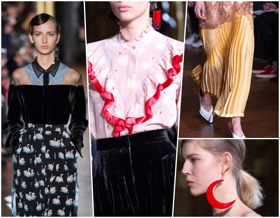 Stella McCartney Valli Paris Fashion Week AW16