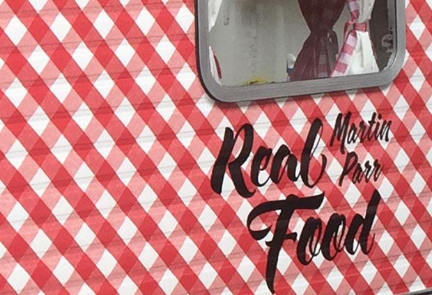 Martin Parr's Real food caravan