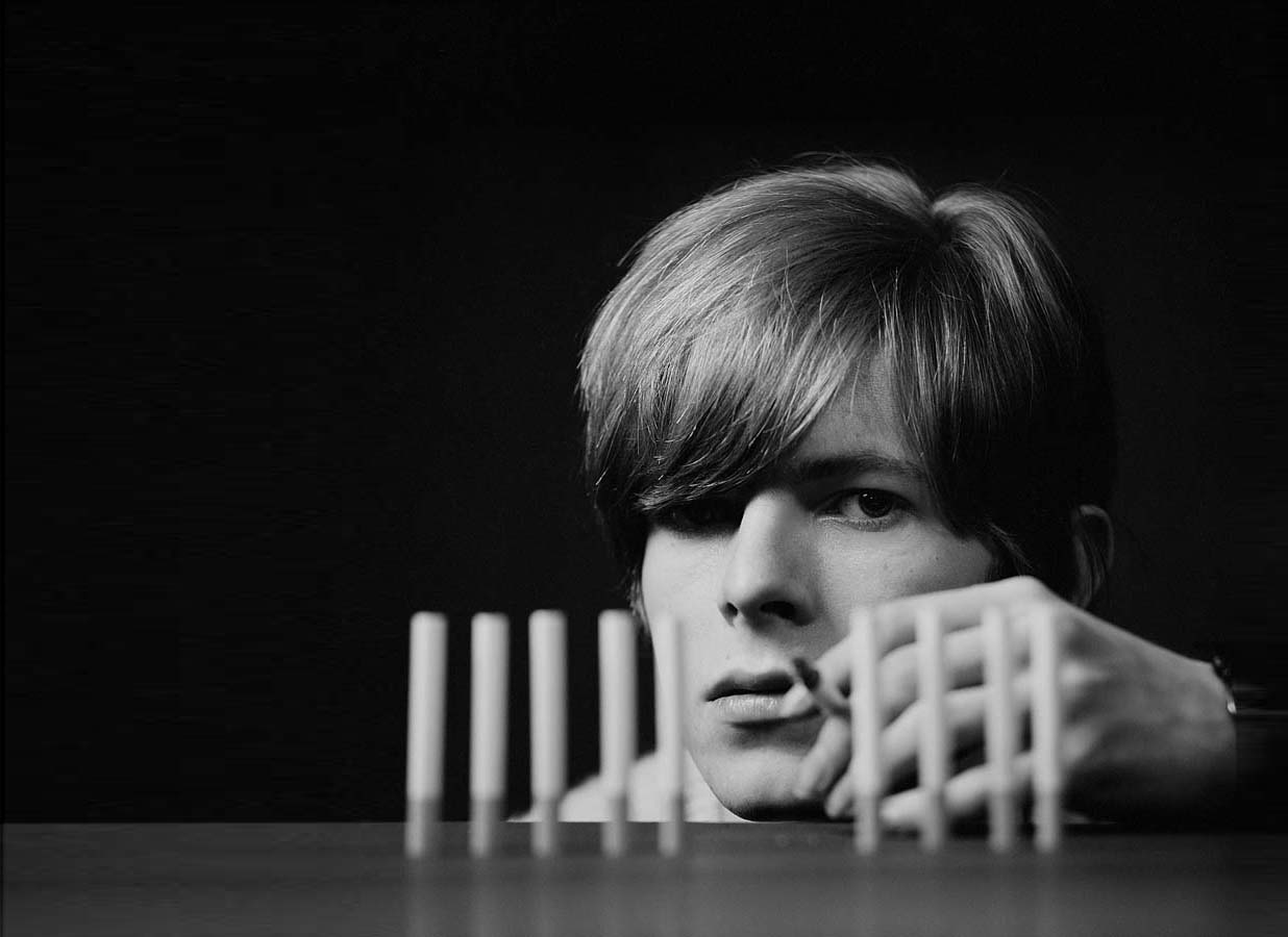David Bowie by Gerarld Fearnley Snap Galleries