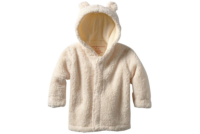 Cream Bear Jacket Magnificent Baby