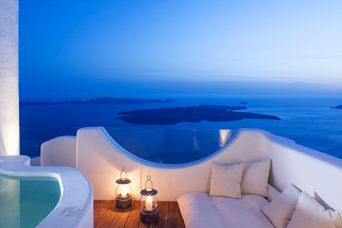 Native eco villa, Imerovigli, Santorini, Greece
