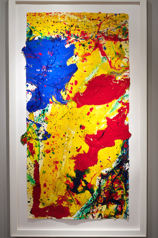 Sam francis Exhibited by Diane de Polignac gallery