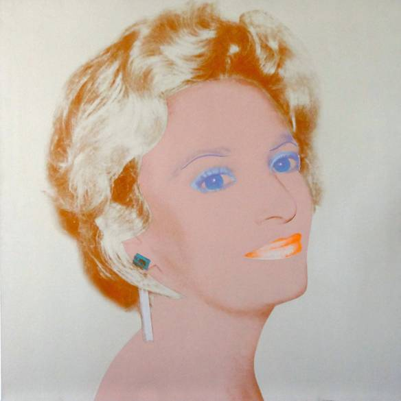 the socialite andy warhol Olga Berde Mahl Long Sharp Gallery Masterpiece London