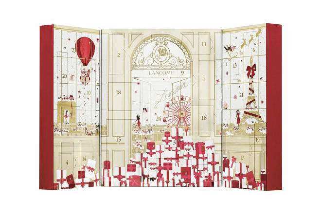Lancôme christmas advent calendar 2015