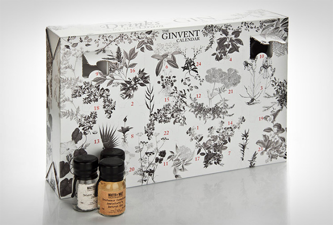 Ginvent Calendar The Dram Bottling Note christmas advent calendar 2015