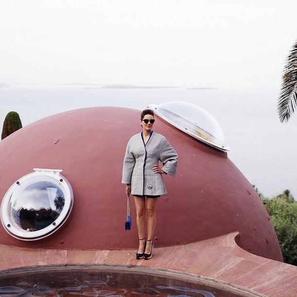 Marion Cotillard Dior Resort 2016 Fashion Show