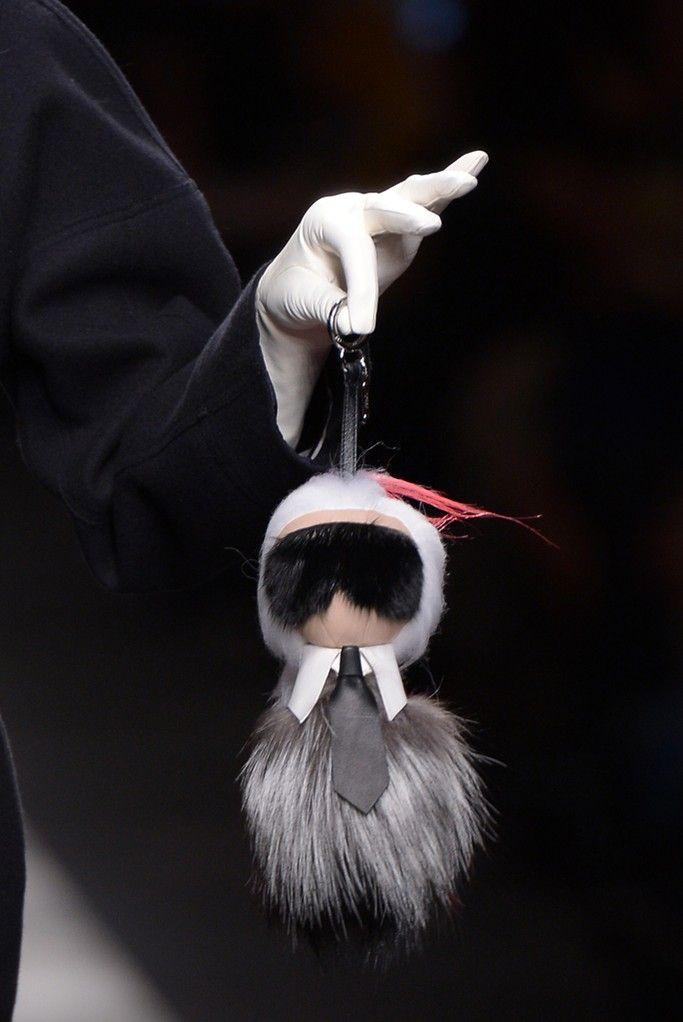 Karlito Fendi bag bug accesory via wwd.com